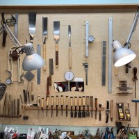 Visite Atelier de Luthier - Isaac Jang (Hollywood, Los Angeles)