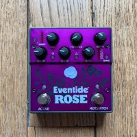 Test pédale Eventide Rose, un délai mono à modulation qui sonne terrible