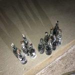 Une vingtaine de bouteilles retrouvées intactes
