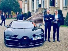 Un beau partenariat entre le bijou de l'automobile et le Champagne Carbon.