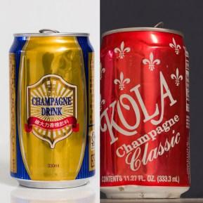 Les inévitables sodas et colas.