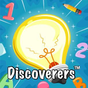 Preschool curriculum icon of a light bulb