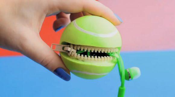 Теннисный мячик из силикона
