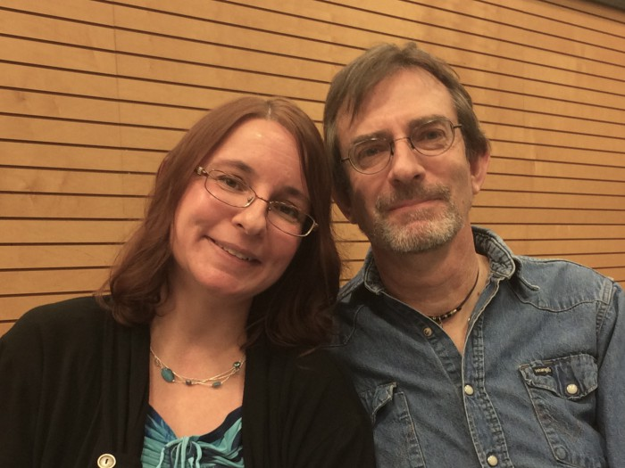 Jeff Mariotte and Marsheia Rockwell (writing partners and life partners)