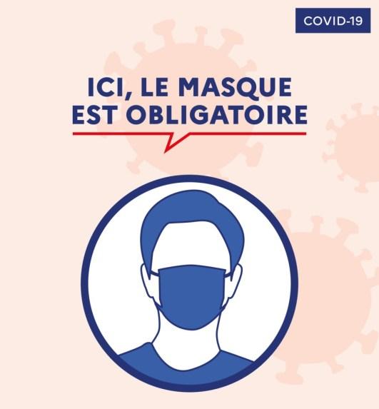 Protégez-vous, protégez-nous, portez un masque !