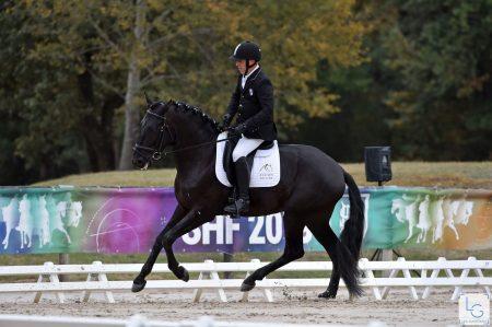 Heliot championnat de France jeunes chevaux