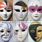 decorare con le maschere veneziane lachipper.com