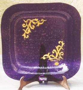 decorazione del vetro oro zecchino lachipper.com