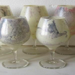 bicchieri vetro marmorizzato lachipper.com