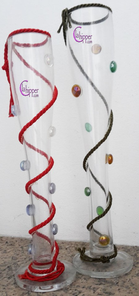 vasi cristallo con gemme lachipper.com