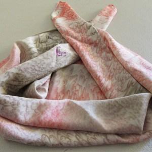 foulard di seta dipinto a mano lachipper.com
