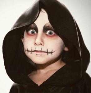 trucco per halloween www.lachipper.com