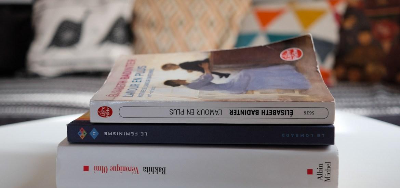 Lectures féministes : L'amour en plus, Bakhita et Le féminisme
