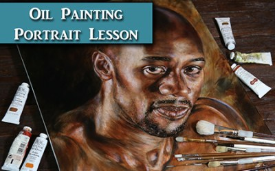 Oil Painting Portrait Tips & Demonstration