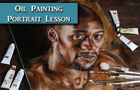 Oil Painting Portrait Tips & Demonstration