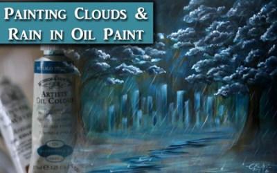 How to Paint Clouds & Rain in Oil Paint