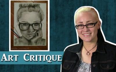 Charcoal Portrait Critique