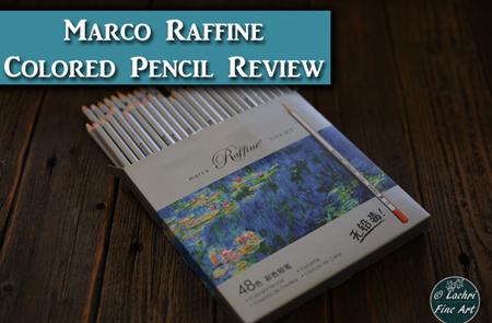 Marco Raffine Fine Art Colored Pencil Review