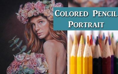 Colored Pencil Portrait Tutorial