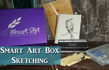 Smart Art Box – Oil Bound Charcoal Sketching