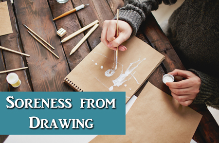 Art Q&A – Hands Getting Sore While Drawing