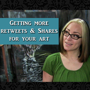 Getting more shares and retweets for your art