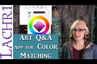 Art Q&A - The app I use to color match on my phone w/ Lachri