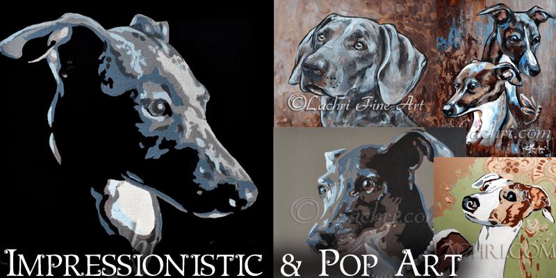 Impressionistic and Pop Art