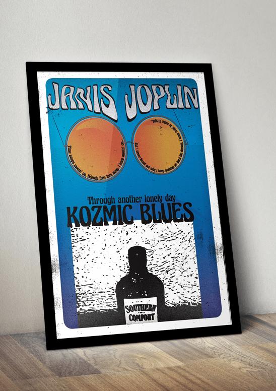 Kozmic Blues poster