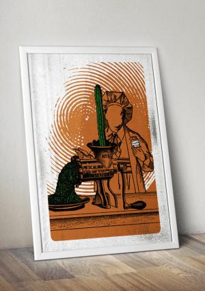 mescalina poster