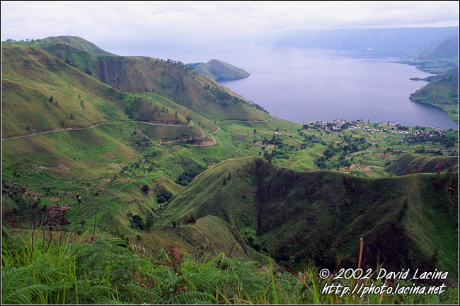 West Part Of Lake Toba - Lake Toba, Indonesia