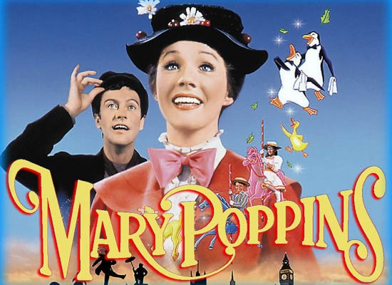 Mary poppins affiche du film