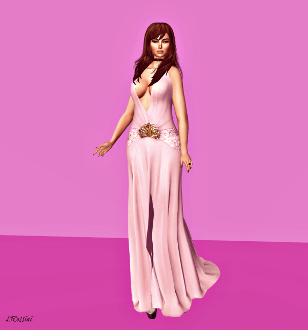 Prism Regine Pastel Gown by Jezzixa PINK