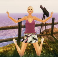Prism Tilly Floral Skirt & Tank Set by Jezzixa in Pinks