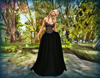 Prism Celeste Gown with HUD by Jezzixa Cazalet