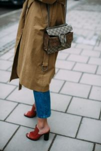 gucci trench