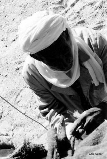 Hombre del desierto