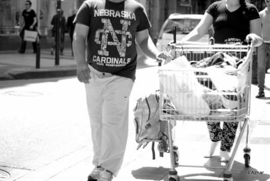 De compras y sin zapatos