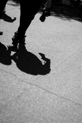 Foto de la sombra de la foto