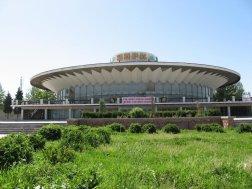 Circo de Dushanbe de 1976. Arquitectos: A. Aizkovich, T. Volvak, E. Ersovski
