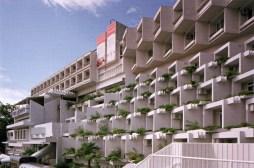 Hotel Adriatic en Opatija, 1970-1971, arquitecto Branko Žnidarec