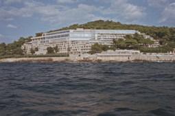 Hotel Palace en Dubrovnik, 1969-1972, arquitectos: Andrija Činin-Šain y Žarko Vincek