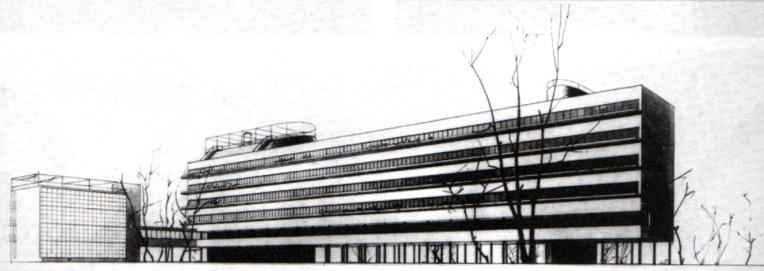 Guinsburg-Milinis: edificio Narkomfin