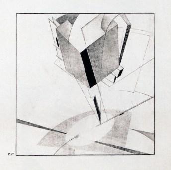El Lissitsky: Proun 5A, 1920-1921