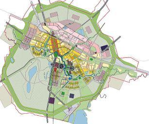 Masterplan de Astana, Kisho Kurokawa arq. 1997
