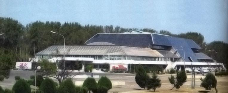 Pabellón para exposiciones de Kimilsungias y Kimjongilias, 2002