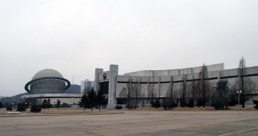 Pabellones de la Exposición de las Tres Revoluciones, 1992