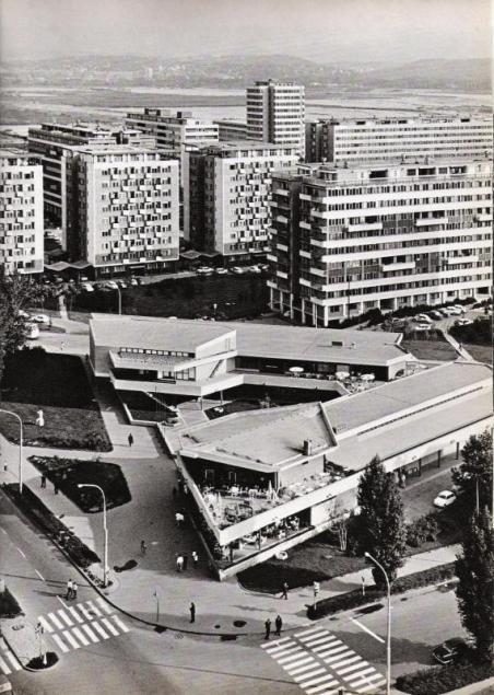 Centro del Microdistrito Fontana, Nueva Belgrado, 1963