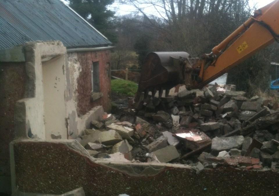 Demolition time again