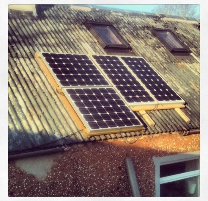 Small solar PV